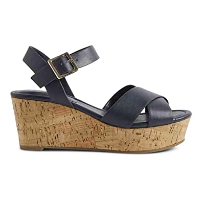 802ac759544 Ex Marks & Spencer M&S Collection T020030 Wedge Heel Crossover ...