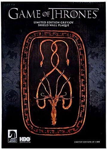 Dark Horse Deluxe- Greyjoy Emblema Casa Placa Pared 24,5 HBO Game ...