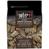 Weber Wooden Blocks on Smoking