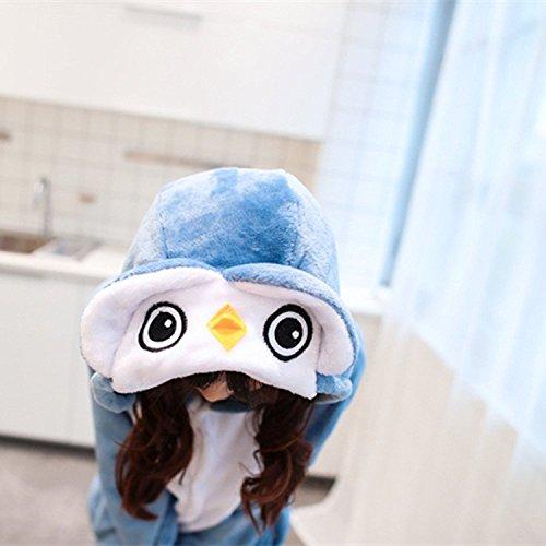 Lazutom Unisex Adult Pyjamas Cosplay Tier Onesie Nachtwäsche Nachtwäsche Owl 7OsFjcuwXM