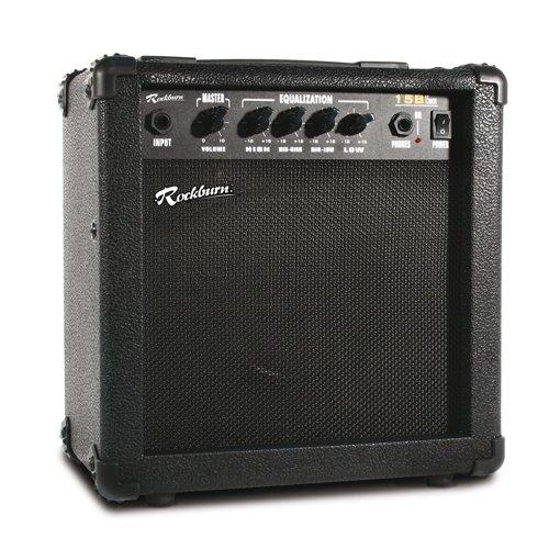 Rockburn 15 Watt Bass Guitar Amplifier