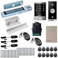 Vsionis FPC-5289 One door Access Control Inswinging Door 300lbs Maglock with VIS-3000 Outdoor Weather Proof Keypad/Reader Standalone no software 2000 User Wireless Receiver Kit
