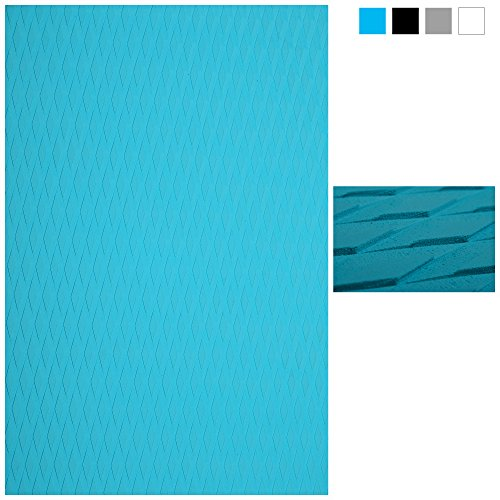 Abahub Non-Slip Traction Pad Deck Grip Mat 30in x 20in Trimmable EVA Sheet 3M Adhesive for Kayak Skimboard Blue