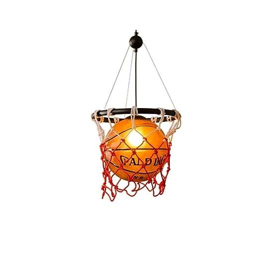 Candelabros, lámparas de araña creativas Baloncesto ...