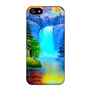 New Fashionable Mwaerke RMSMtjn7243cBiLq Cover Case Specially Made For Iphone 5/5s(cabin By The River)