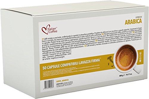 Italian Coffee capsules compatible with RIVO machines (Arabica, 50)