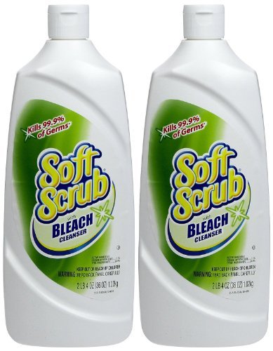 Soft Scrub Soft Scrub Cleanser with Bleach - 36 oz - 2 ()