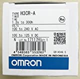OMRON INDUSTRIAL AUTOMATION H3CR-A AC100-240/DC100-125 ELECTROMECHANICAL MULTIFUNCTION TIMER