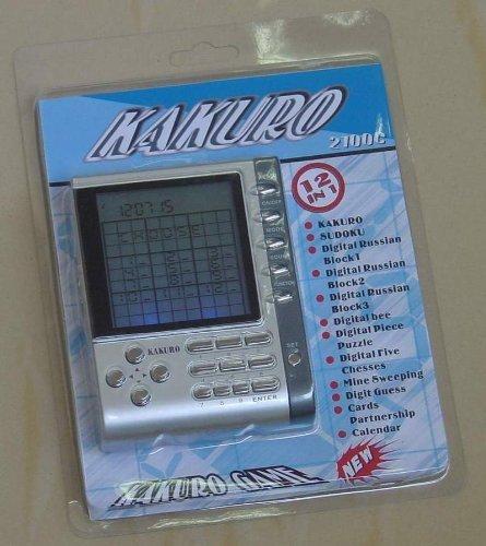 (Kakuro Game 12 in 1 Electronic Handheld)