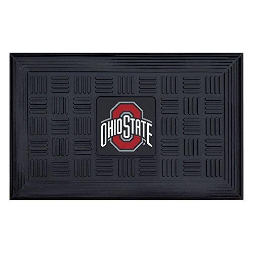 - NCAA Ohio State University Buckeyes 3-D Team Medallion Vinyl Door Mat