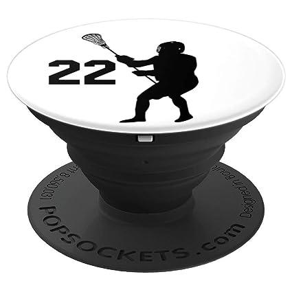 Amazon.com: Número 22, # 22, Lacrosse regalos para hombres ...