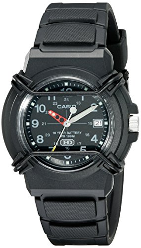 Watch 1bv - CASIO Men's HDA600B-1BV 10-Year Battery Sport Watch
