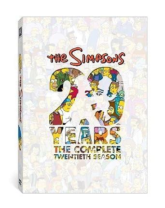 Amazon Com The Simpsons Season 20 Dan Castellaneta Nancy Cartwright Julie Kavner Yeardley Smith Movies Tv