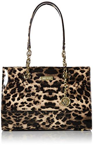 330e8b29aa9a Galleon - Anne Klein CSTCLR SM Tote Bag, Leopard, One Size
