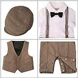 ZOEREA Baby Boy Outfits Set, 3pcs Long Sleeves