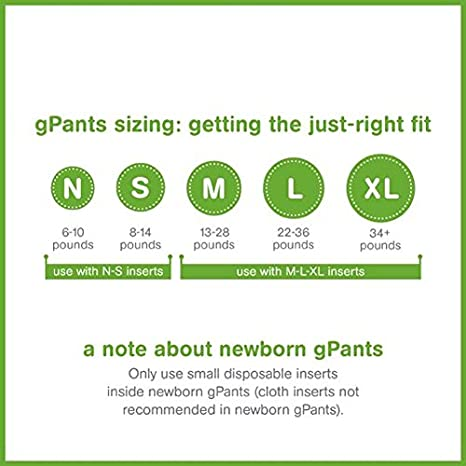 Buy Gdiapers Gpants Everyday G S Medium 6 Count Online At Low Prices In India Amazon In