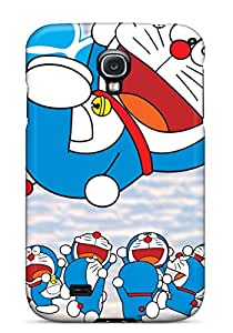 Tpu Fashionable Design Doraemon Rugged Case Cover For Galaxy S4 New