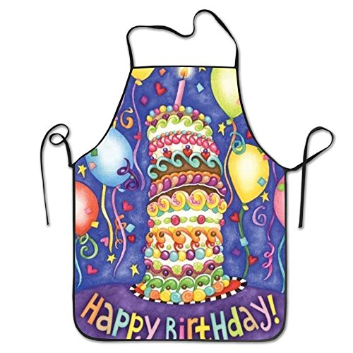 Happy Birthday Aprons For Women/men Personalized Grill Cooking Kitchen Towel Funny Chef Apron