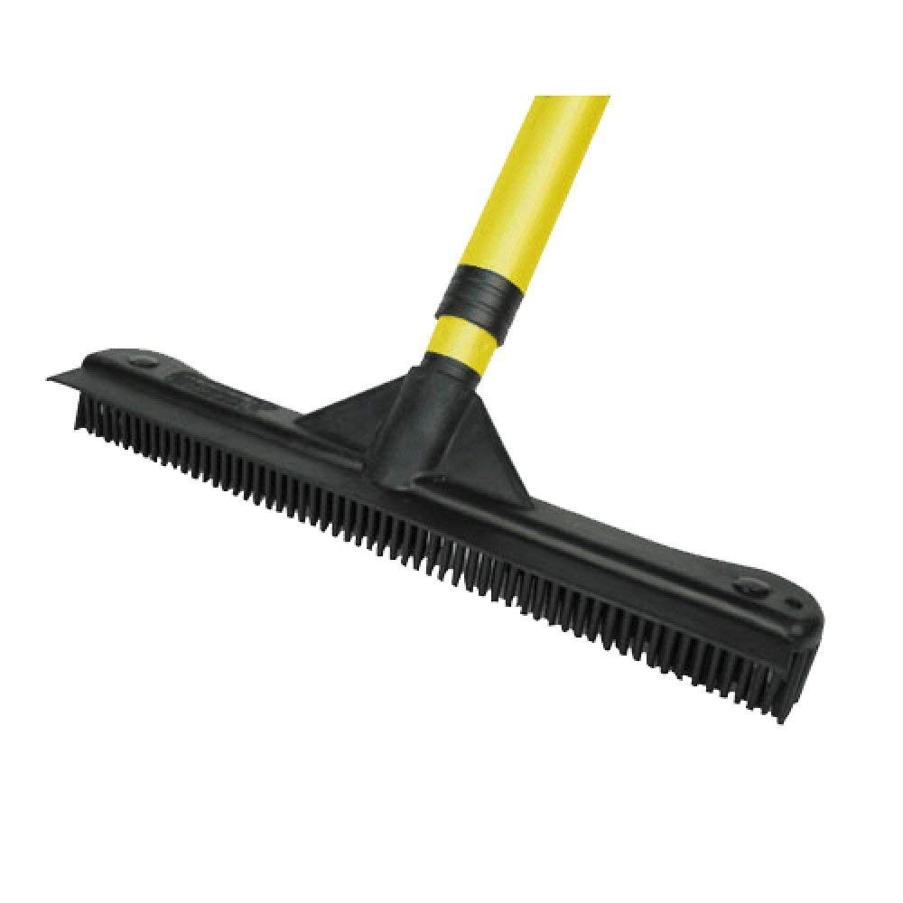 Dutch Rubber Broom 12'' Head- 12 Inches Rubber Broom Head Only Fits Any Handle!