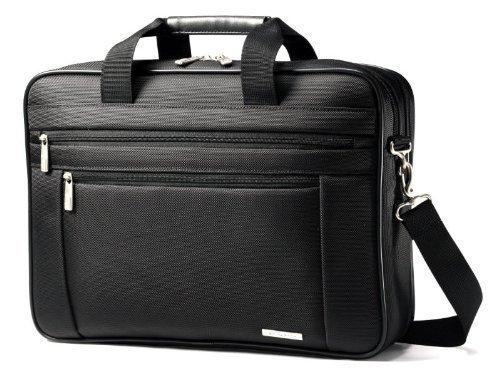 Classic Perfect Fit Laptop Case, 16.5 x 4.5 x 12, Nylon, Bla