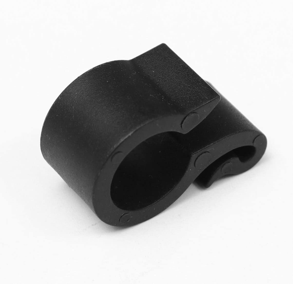 Hemoton Water Pipe Clamp Clip Hose Attachment Clasp Replacement Pipe Fastener for Garden Hose Tube Irrigation Accessories 50pcs Black