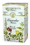 CELEBRATION HERBALS Lavender Flowers Tea Organic 24 Bag, 0.02 Pound