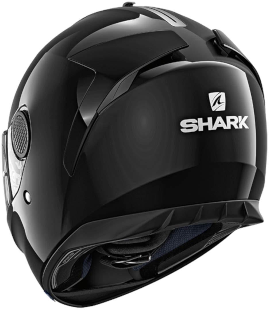 Noir L Shark Casque moto SPARTAN 1.2 BLANK BLK