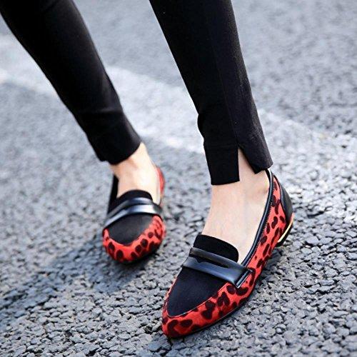 Femmes Talon Escarpins Bas Coolcept Mode GrandeTaille Fete Ballerines Chaussures 5naFwZx7
