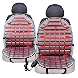 Best Zone Tech Cigarette Lighters - Zone Tech Car Heated Seat Cover Cushion Hot Review