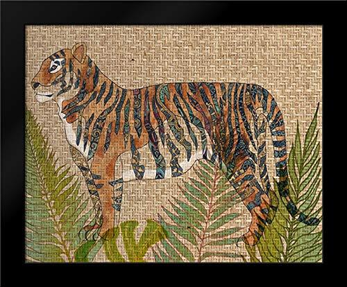 (Rattan Jungle II 18x15 Framed Art Print by Zarris, Chariklia)