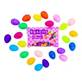 Jelly Beans with 24 Hollow Easter Eggs - Great for Easter Basket Filler, Easter Egg Hunts, Easter Gifts