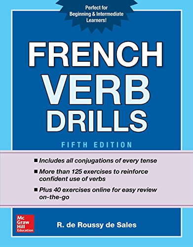 french verb drills - 1