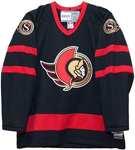 Vintage Ottawa Senators Black CCM Jersey (XL)
