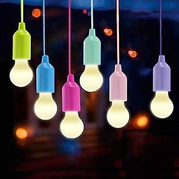 Vanow Lamping LED Lamp, Lámparas Camping Lantern, Portable 6 Piezas Light para Senderismo, Pesca, Escritorio, Camping: Amazon.es: Deportes y aire libre