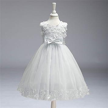 Vestidos de fiesta para nina color blanco