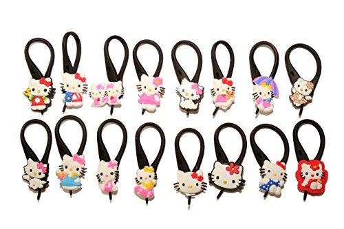 [AVIRGO 16 pcs Soft Zipper Pull Charms for Backpack Bag Pendant Jackett Set # 61] (Badtz Maru Costume)