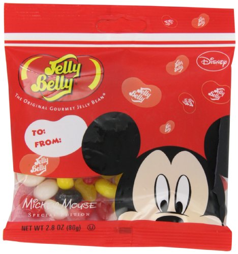 Disney Mouse 12 Mickey (Jelly Belly Mickey Mouse Jelly Beans, Assorted Flavors, 2.8-oz, 12 Pack)