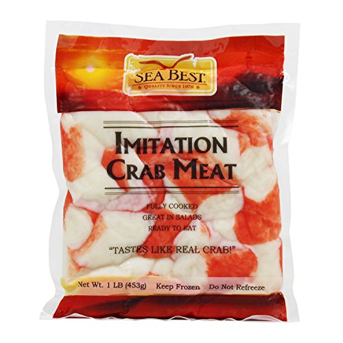 Sea Best Imitation Flake Crabmeat, 16 Ounce (Pack of 12)