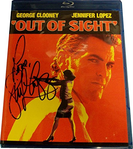 Jennifer Lopez Out of Sight Autograph Blu-ray Signed on Plastic cover With COA