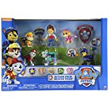Paw Patrol Action Pack Rescue Team with Everest, Marshall, Rubble, Chase, Skye and Ryder + Badge