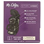 Mr. Coffee 5-Cup Programmable Coffee Maker, Black by Mr. Coffee