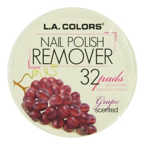 L.A. Colors Nail Polish Remover Pads 963 Grape Scent (L A Colors Nail Polish Set compare prices)