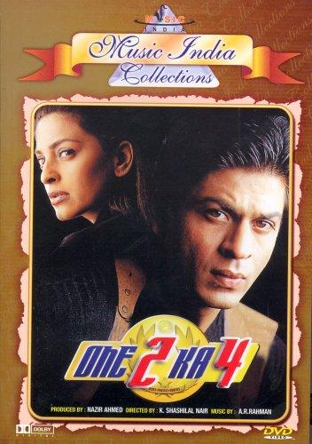 - One 2 Ka 4 - (DVD/Indian Cinema/Bollywood/Hindi Film/Shahrukh Khan)