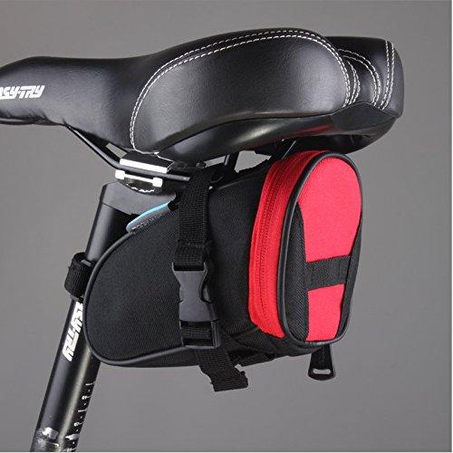FAN4ZAME Fahrrad Hecktasche Schnell Abnehmbar Fahrrad Kissen Bag Fahrrad Rucksack Reitschule Ausrüstung