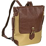 AmeriLeather Two-tone Backpack (Brown Two-tone) - Best Reviews Guide