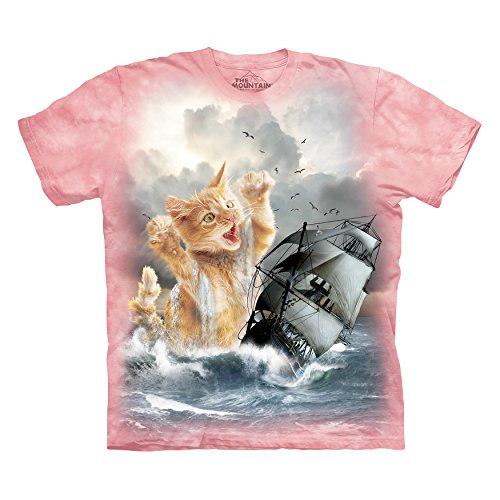 The Mountain Men's Krakitten T-Shirt, Pink, Medium (Assembled Pit Pre)