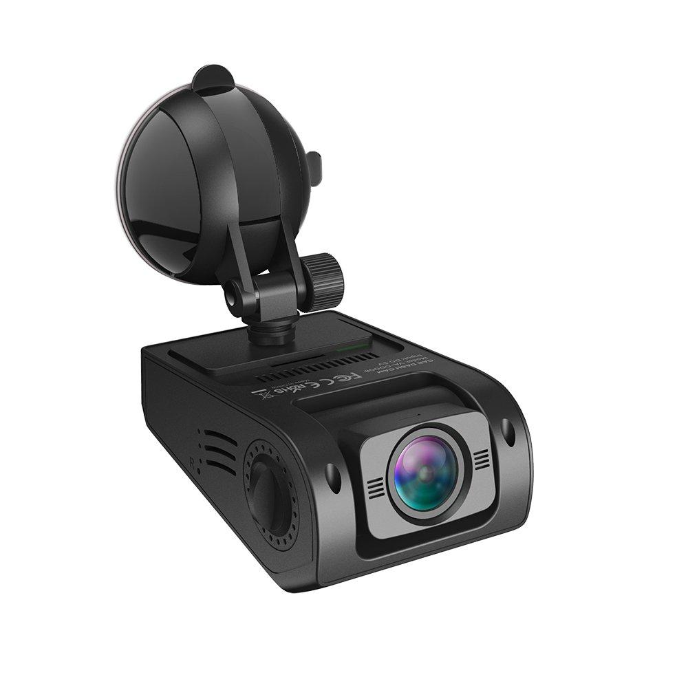 Auto Kamera VAVA 1080P Full HD 30fps 160° Weitwinkel Linse, Dashcam Armaturenbrett Kamera, WDR, Loop-Aufnahme - Doppel USB Anschluss Ladegerät inklusive VA-CD008 DE