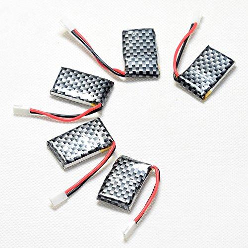 ECHOBBY 3.7V 200mAh 20C LiPO Battery Walkera Plug for RC micro aircraft Lipolymer power by ECHOBBY (Image #8)
