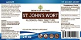 St. John's Wort Alcohol-FREE Liquid Extract, Organic Saint John's Wort (Hypericum Perforatum) Dried Herb (2 FL OZ)
