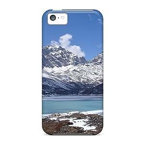 Unique Design Iphone 5c Durable pc Case Cover Tilicho Lake